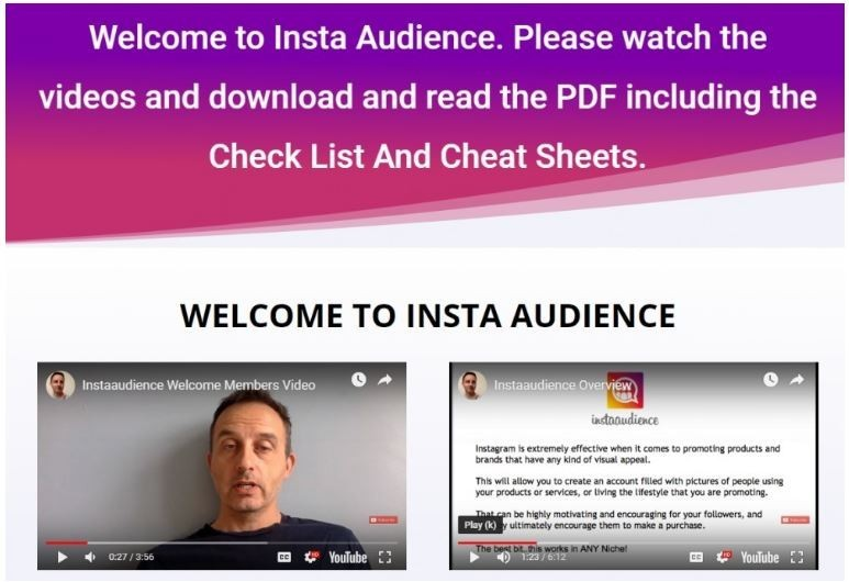 InstaAudience Review   Kernel Affiliate