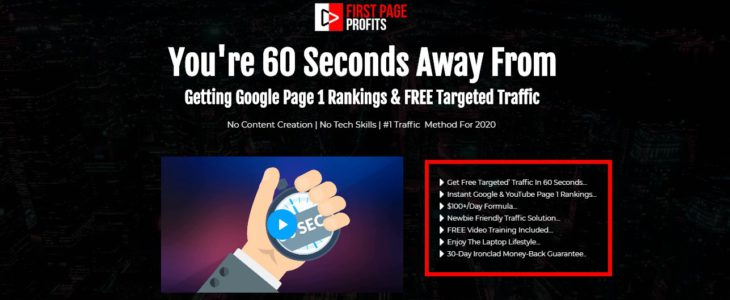 First Page Profit Review